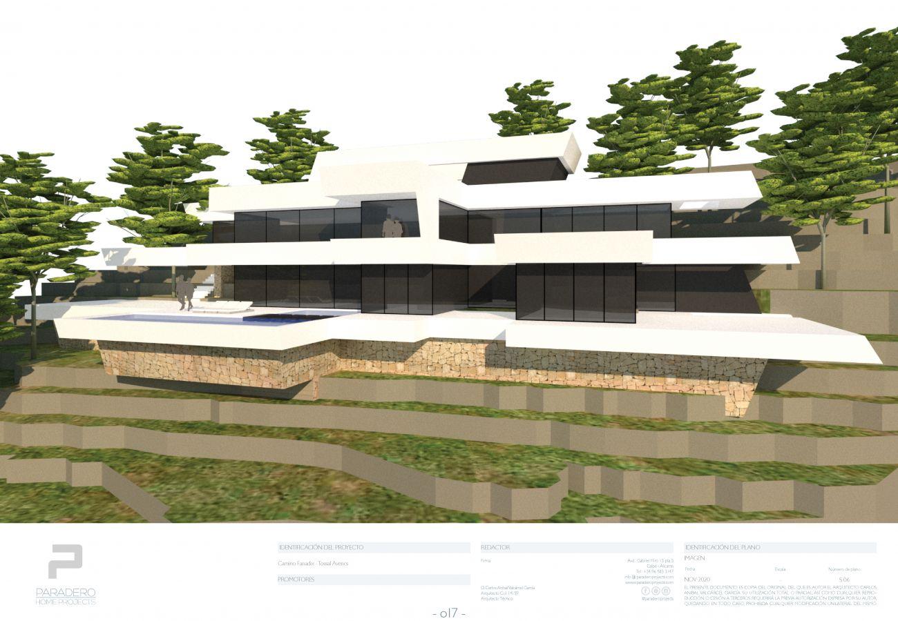 Villa en Teulada - PROYECTO EXCLUSIVO DE LUJO MORAIRA