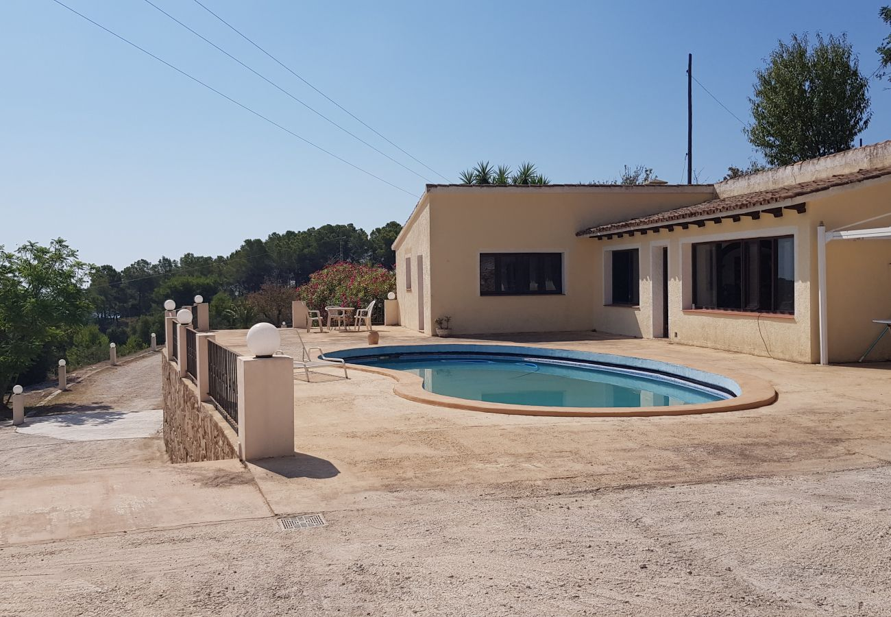 Villa en Benissa - PRECIOSA VILLA EN FUSTERA