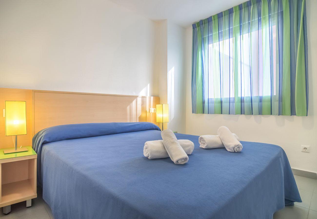 Ferienwohnung in Calpe - HIPOCAMPOS 2 DORMITORIOS