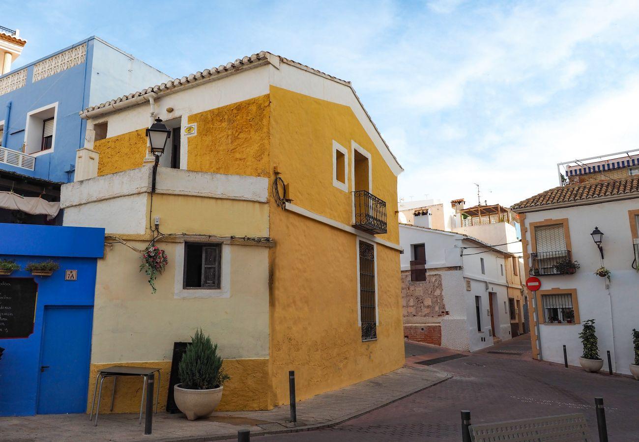 Ferienhaus in Calpe - CASA DE PUEBLO CON ENCANTO