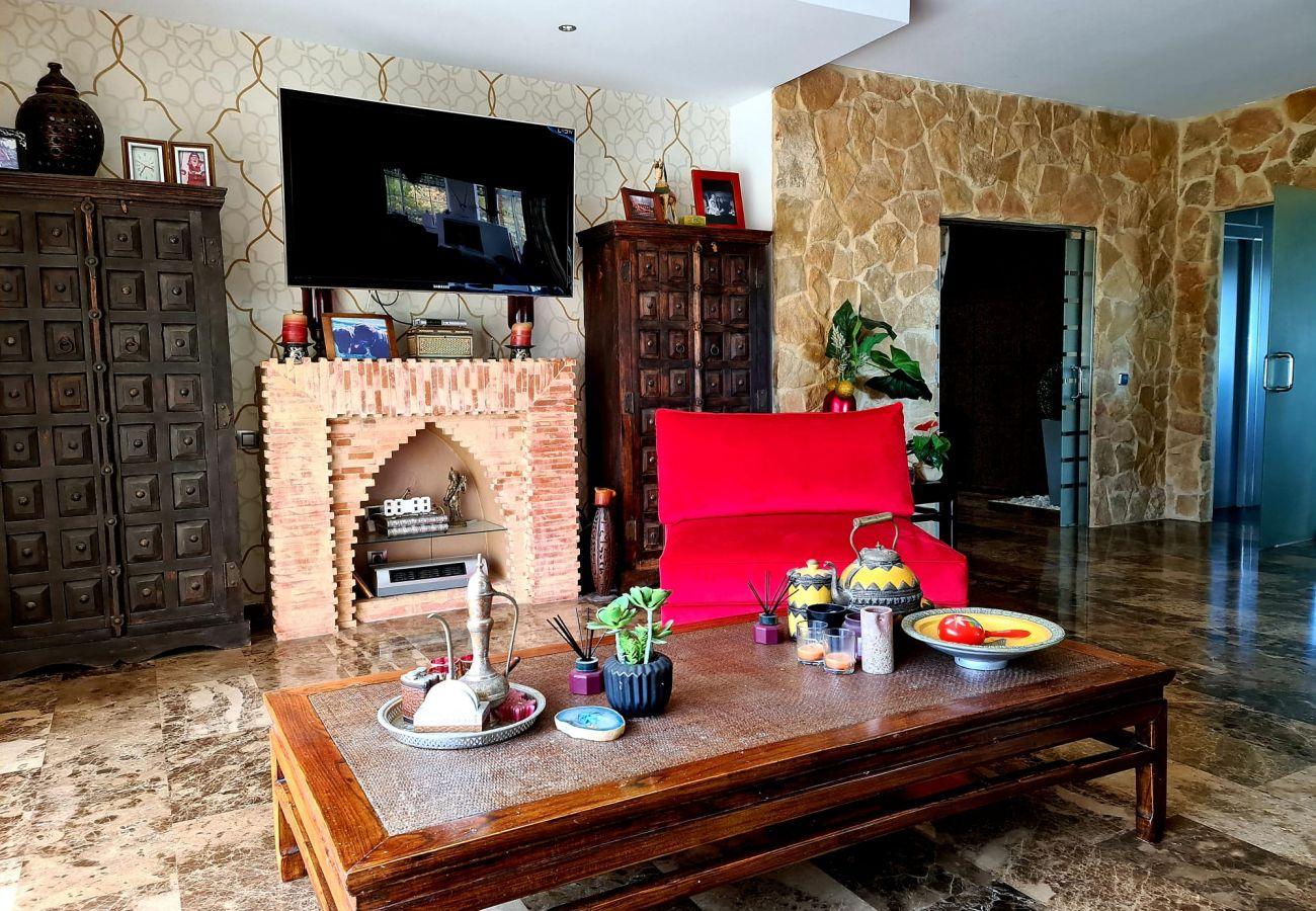 freistehendes Haus in Torrent - LUJOSO CHALET MONTE REAL