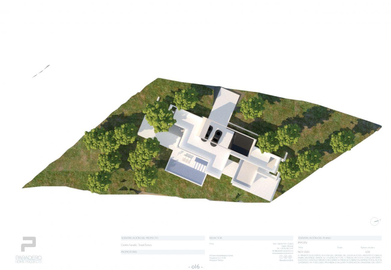 Villa/Dettached house in Teulada - PROYECTO EXCLUSIVO DE LUJO MORAIRA